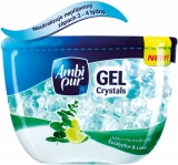 Ambi Pur gel crystals Eukalyptus & Lime 150g