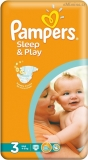 Pampers Sleep&play 3 midi 4-9 kg 58 ks