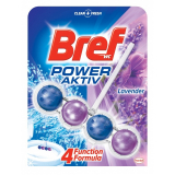 Bref WC Power Aktiv 1 ks (50g) Lavender