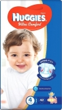 HUGGIES Ultra Comfort 4 (8-14 kg) - 42 ks