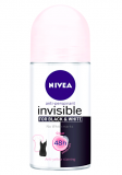 Nivea Invisible for Black & White roll-on Clear 50 ml
