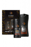 Axe dárková kazeta Dark Temptation (deodorant spray 150 ml +sprchový gel 250 ml)