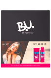 B.U. dárková kazeta My Secret (EDT 50 ml + deodorant body spray 150 ml)
