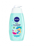 Nivea kids sprchový gel + šampon 500 ml Apple 2v1