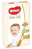HUGGIES plenky Elite Soft vel.4 (8-14 kg) 66 ks