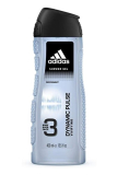 Adidas 3v1 sprchový gel 400 ml Dynamic Pulse