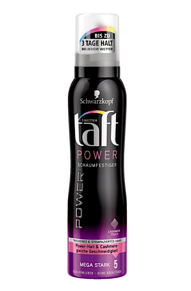 Taft tužidlo 150 ml Power Cashmere mega stark 5
