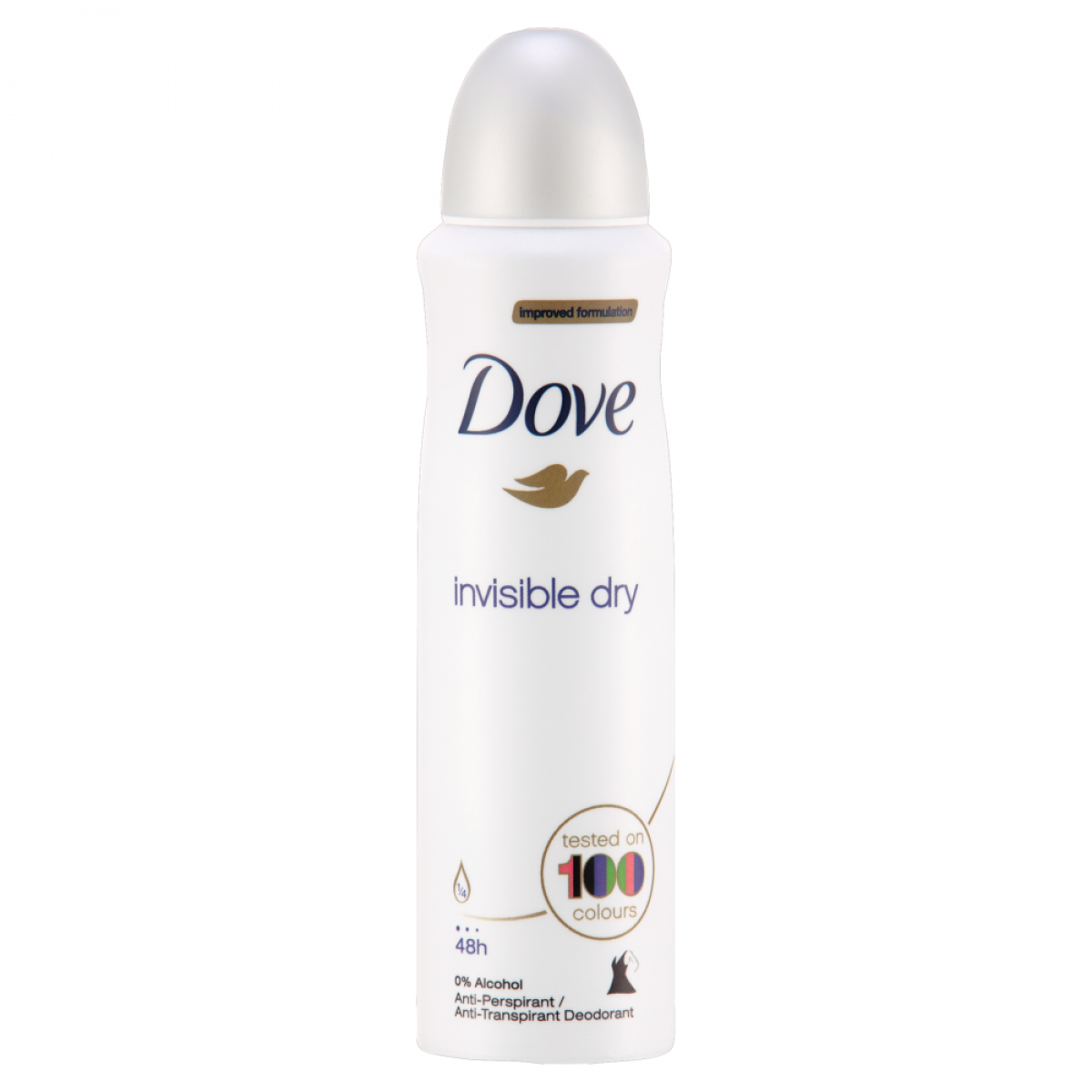 Dove deospray 150 ml Invisible Dry antiperspirant