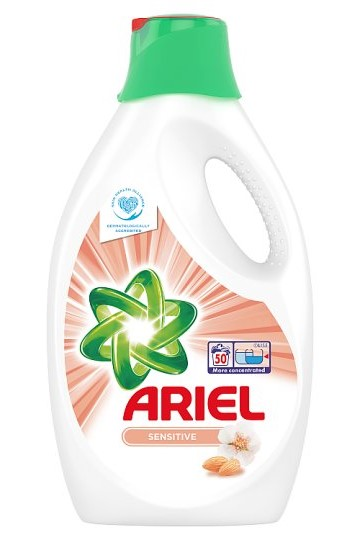 Ariel gel 50 pracích dávek Sensitive 2,75 l