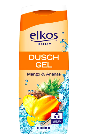 Elkos Body sprchový gel 300 ml Mango & Ananas