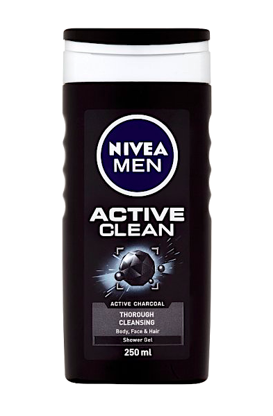 Nivea Men sprchový gel 250 ml Active Clean
