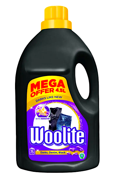 Woolite gel 75 pracích dávek 4,5 l Darks, Denim, Black