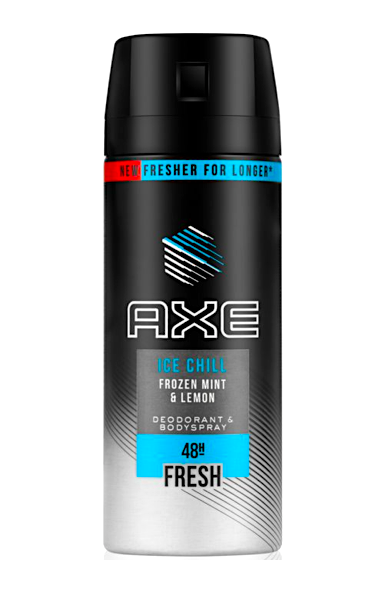 Axe deospray 150 ml Ice Chill (Frozen Mint & Lemon)