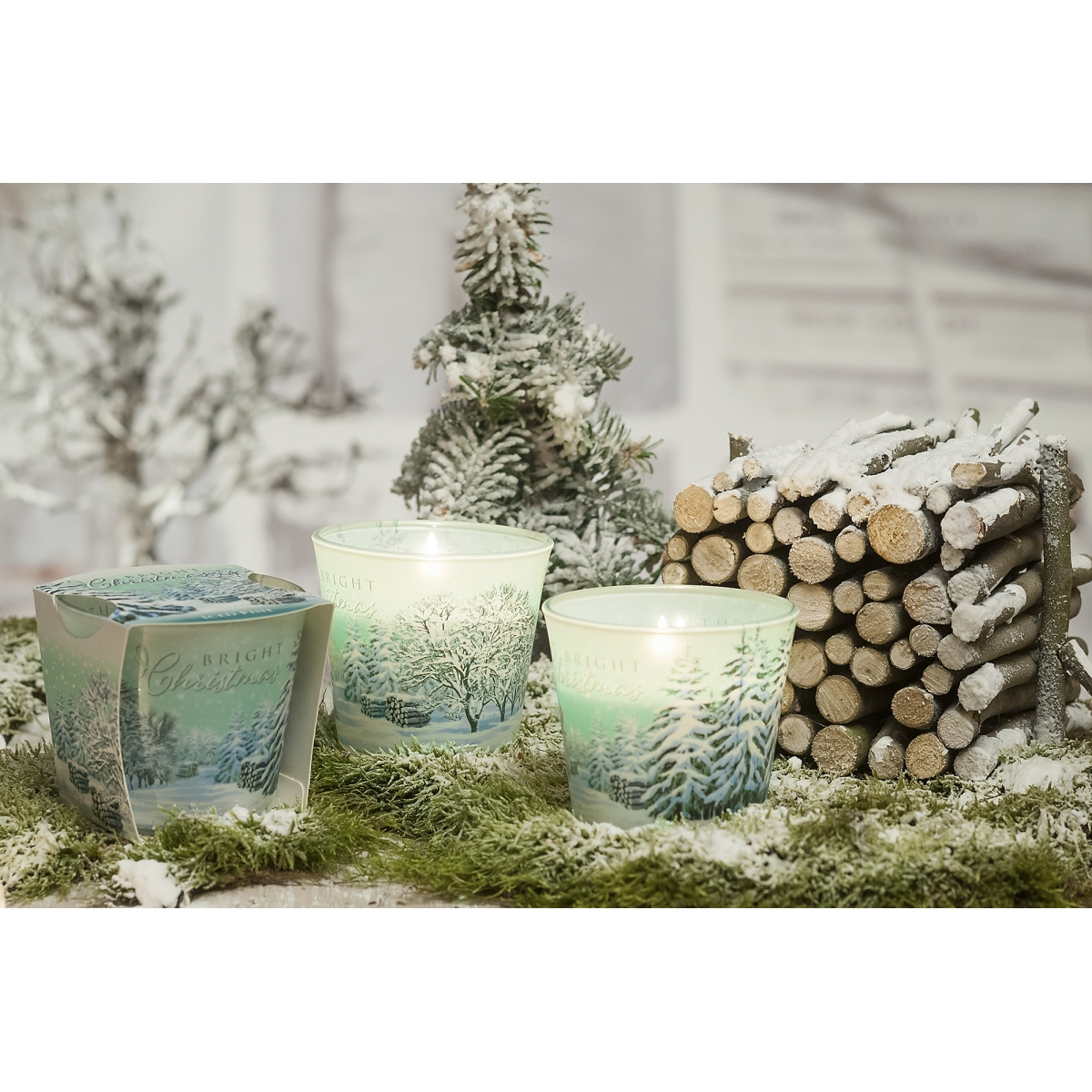 Bartek Candles 115 g Briht Christmas
