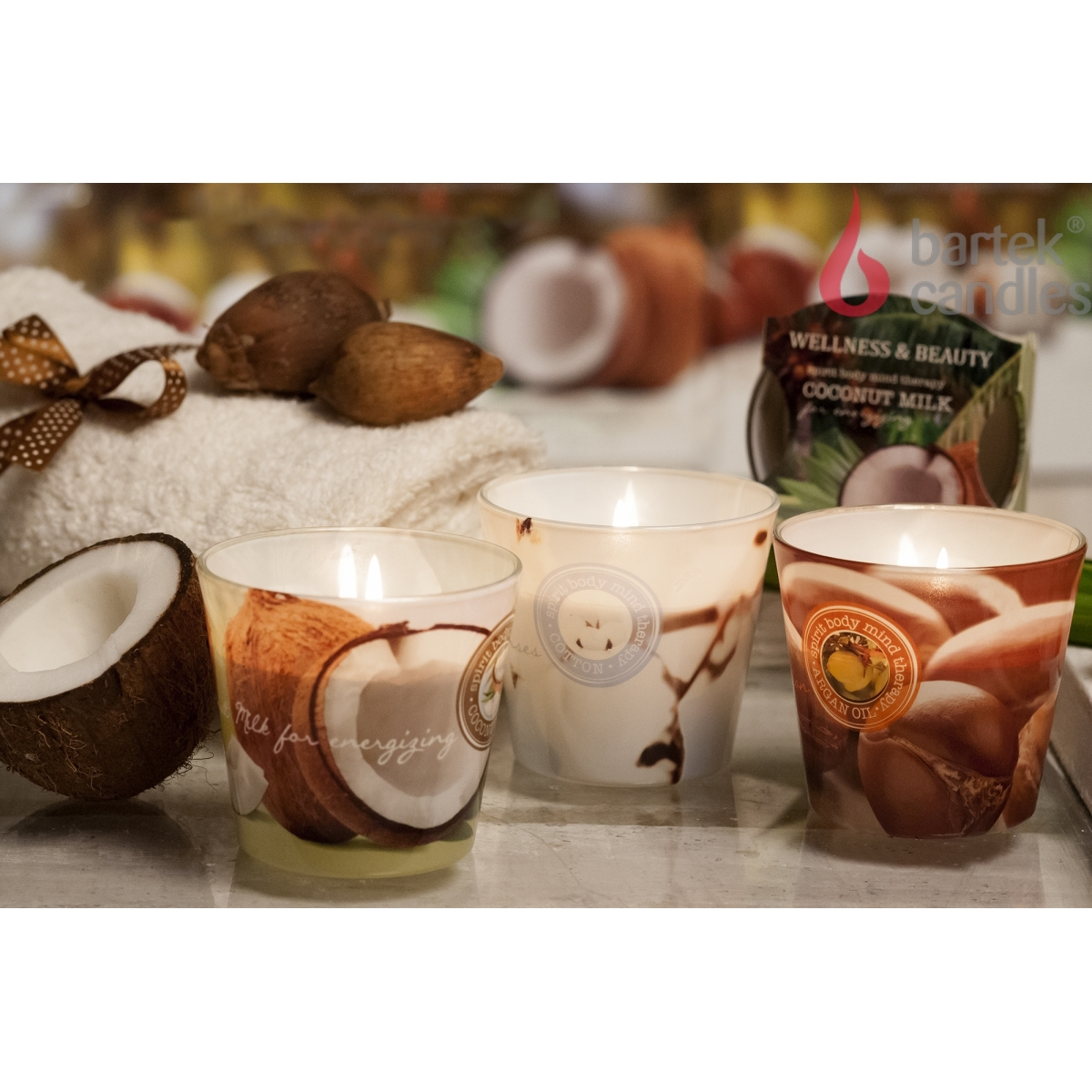 Bartek Candles svíčka 115 g Wellness & Beauty