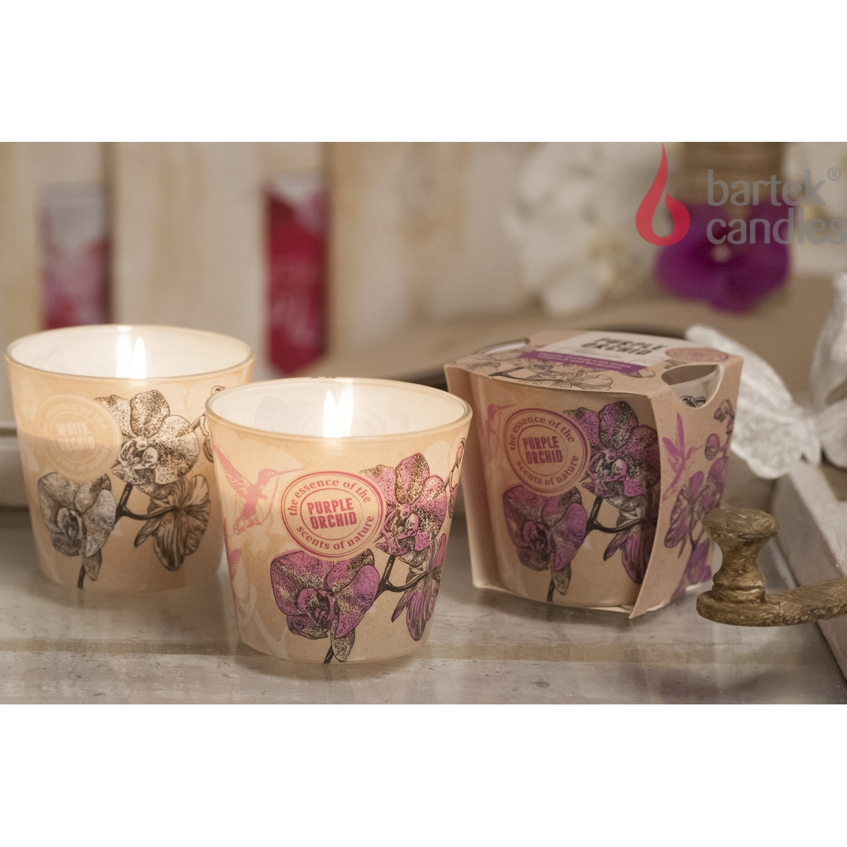 Bartek Candles 115 g Charming Orchid Eco