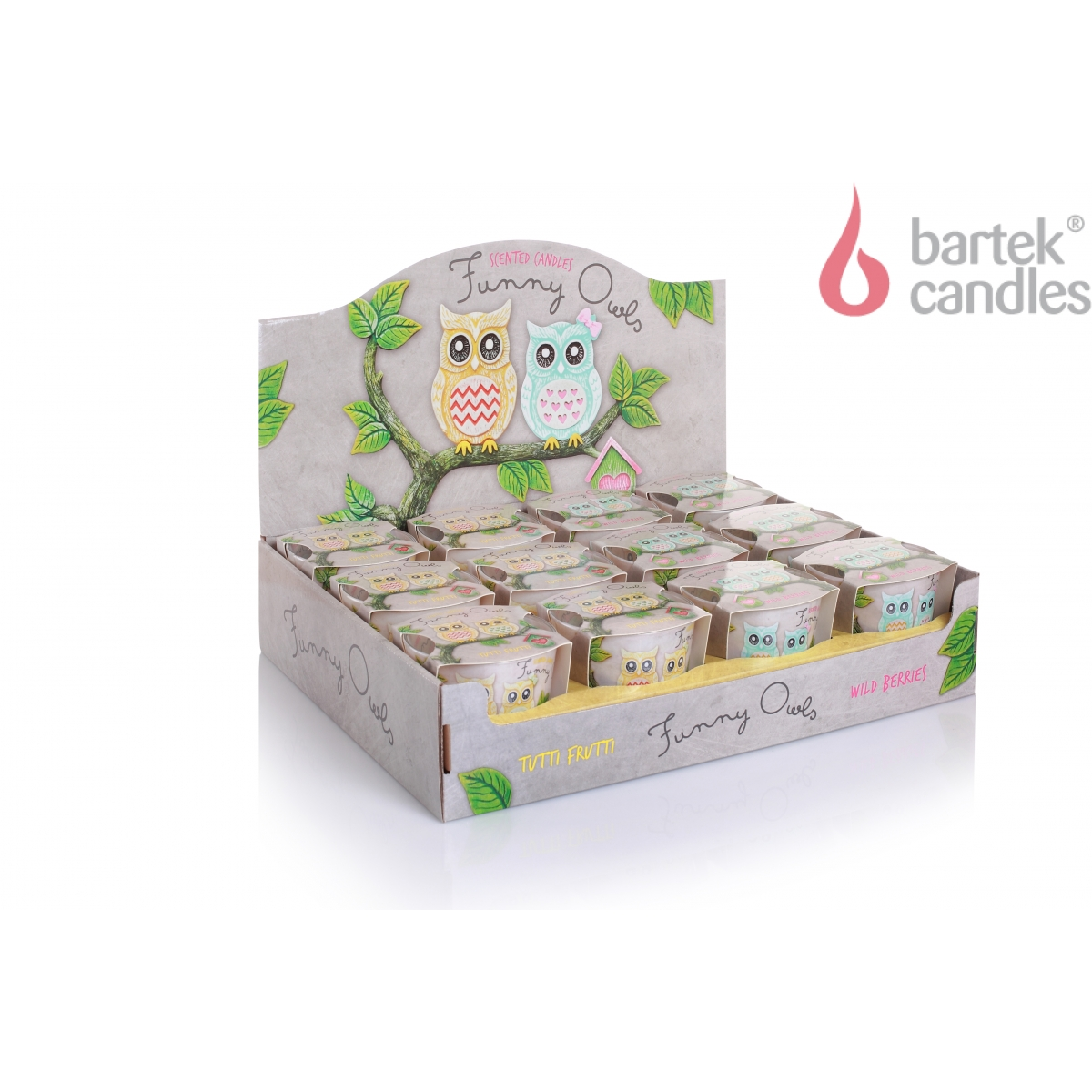 Bartek Candles 115 g Funny Owls
