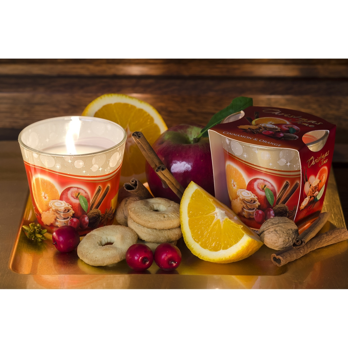 Bartek Candles 115 g Christmas Time