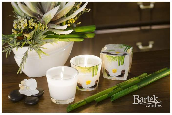 Bartek Candles svíčka 115 g Spa