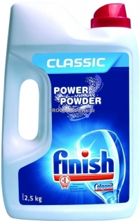 Finish prášek do myčky 2,5 kg Classic Power Powder