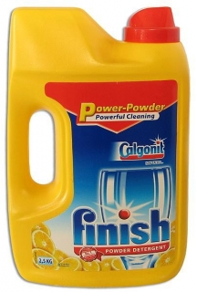 Finish prášek do myčky 2,5 kg Lemon Power Powder