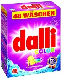 Dalli 48 pracích dávek Color