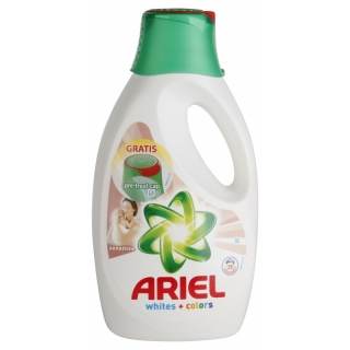 Ariel gel 20 pracích dávek Sensitive