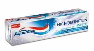 Aquafresh zubní pasta High Definition White Illuminating mint 75 ml