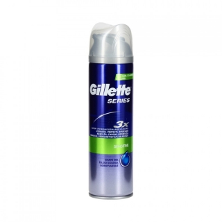 Gillette Series gel na holení 200 ml Sensitive