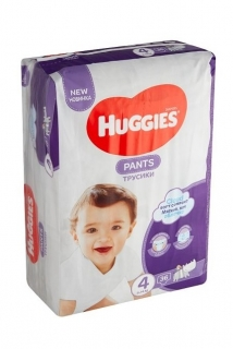 HUGGIES plenky Pants vel.4 (9-14 kg) 36 ks