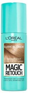 L´Oréal Magic Retouch  vlasový korektor šedin a odrostů Dark Blonde 75 ml