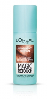 L´Oréal Magic Retouch vlasový korektor šedin a odrostů Mahogany Brown 75 ml
