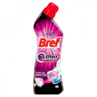 Bref WC 750 ml 6x Effect Total Protection