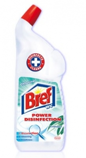 Bref WC 750 ml Power Disinfection