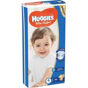 HUGGIES® Ultra Comfort 4 (8-14 kg) - 54 ks
