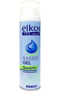 Elkos For Men gel na holení 200 ml Sensitiv