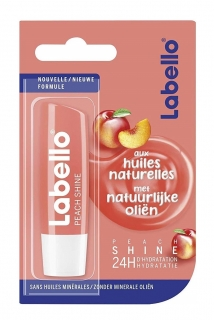 Labello balzám na rty 4,8 g Peach Shine