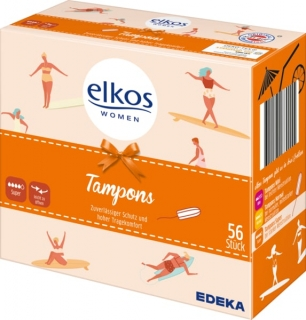 Elkos Women tampony 56 ks Super