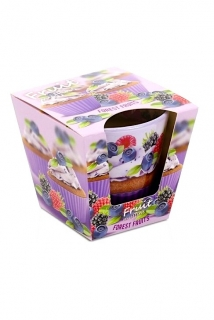 Bartek Candles svíčka 115 g Fruit Muffins Forest Fruits