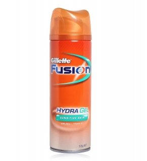Gillette Fusion Hydra Gel 200 ml Sensitive Skin