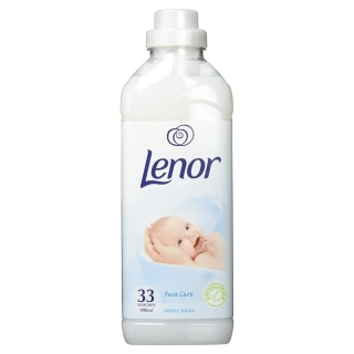 Lenor 33 pracích dávek Pure Care Gentle Touch 990 ml