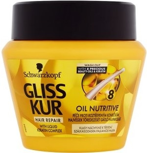 Gliss Kur maska 300 ml Oil Nutritive