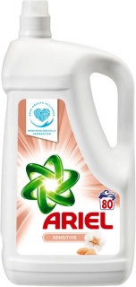 Ariel gel 80 pracích dávek Sensitive 5,2 l