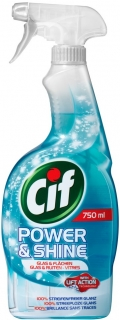 Cif Power & Shine na okna a sklo 750 ml