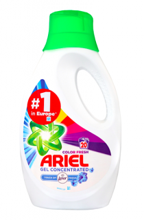 Ariel gel 20 pracích dávek Color Fresh 1,1 l Touch of Lenor