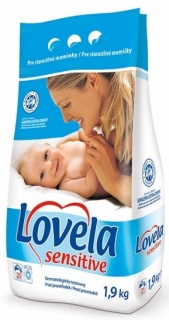 Lovela 21 pracích dávek Sensitive 1,9 kg