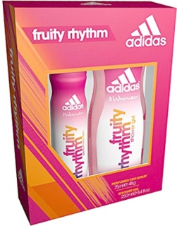Adidas Fruity Rhythm sprch. gel 250 ml + parfum deo spray 75 ml