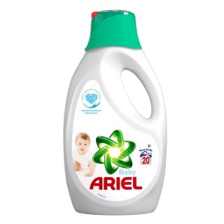 Ariel gel 20 pracích dávek Baby empty 9e9e566ada