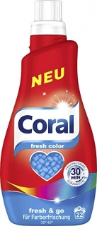 Coral gel 22 pracích dávek Fresh Color 1,1 l