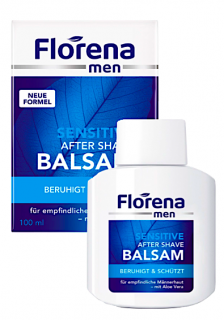 Florena Men balzám po holení 100 ml Sensitiv